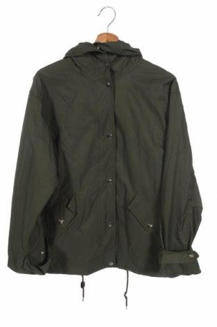 Дамско яке H&M, Размер XS, Цвят Зелен, 65% памук, 35% полиамид, Цена 29,93лв.