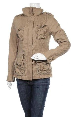 Дамско яке H&M Divided, Размер M, Цвят Бежов, 100% памук, Цена 25,20лв.