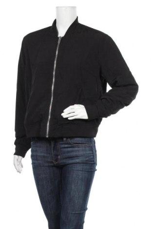 Дамско яке H&M Divided, Размер XL, Цвят Черен, Полиестер, Цена 27,72лв.