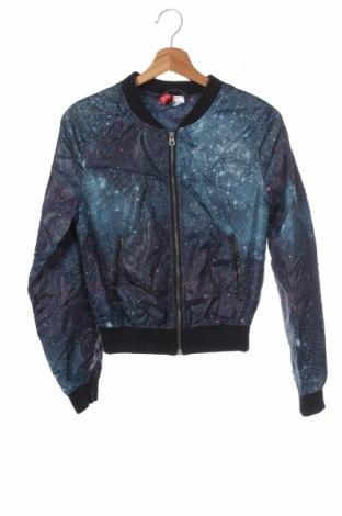 Дамско яке H&M Divided, Размер XS, Цвят Многоцветен, Полиестер, Цена 11,29лв.
