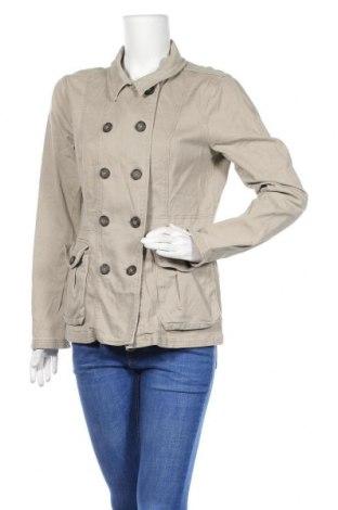 Дамско яке H&M Divided, Размер M, Цвят Бежов, 97% памук, 3% еластан, Цена 10,38лв.