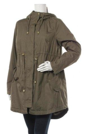 Дамско яке H&M Mama, Размер M, Цвят Зелен, 65% полиестер, 35% памук, Цена 33,08лв.