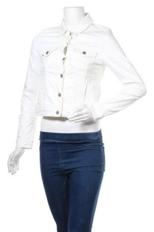 Дамско яке Hallhuber, Размер S, Цвят Бял, 98% памук, 2% еластан, Цена 40,95лв.