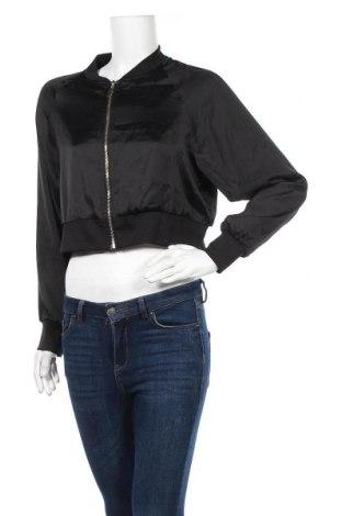 Дамско яке Jennyfer, Размер L, Цвят Черен, Полиестер, Цена 11,80лв.