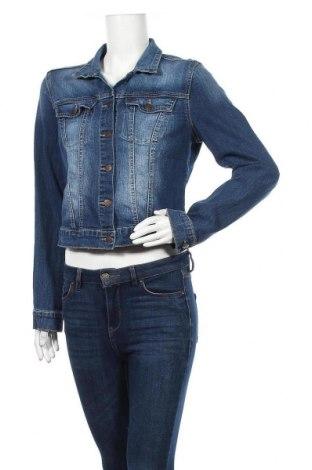 Дамско яке Jessica Simpson, Размер L, Цвят Син, 98% памук, 2% еластан, Цена 24,41лв.