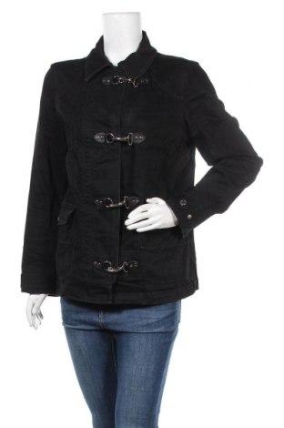 Дамско яке Lauren Jeans & Co, Размер L, Цвят Черен, 99% памук, 1% еластан, Цена 62,11лв.