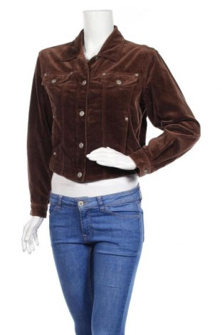 Дамско яке Liz Claiborne, Размер S, Цвят Кафяв, 100% памук, Цена 8,93лв.