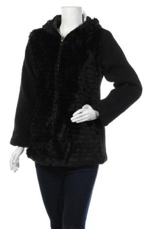 Дамско яке Mademoiselle A Paris, Размер M, Цвят Черен, 80% акрил, 20% полиестер, Цена 34,65лв.