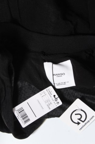 Дамско яке Mango, Размер S, Цвят Черен, 80% вискоза, 20% полиамид, Цена 29,67лв.