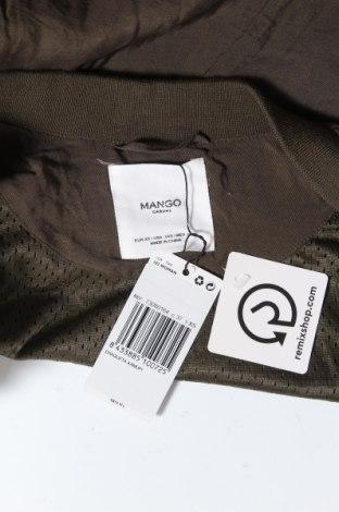 Дамско яке Mango, Размер XS, Цвят Зелен, Цена 13,80лв.