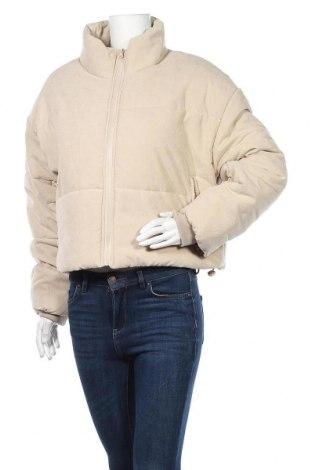 Дамско яке Missguided, Размер M, Цвят Бежов, 90% полиестер, 10% полиамид, Цена 66,75лв.