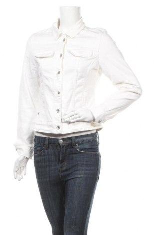 Дамско яке More & More, Размер L, Цвят Бял, 98% памук, 2% еластан, Цена 34,65лв.