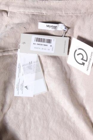 Дамско яке Myrine, Размер M, Цвят Бежов, 79% полиестер, 16% полиамид, 5% еластан, Цена 30,10лв.