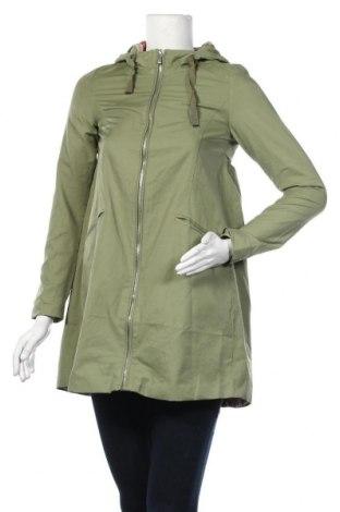 Дамско яке ONLY, Размер XS, Цвят Зелен, 63% памук, 37% полиамид, Цена 54,00лв.