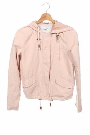 Дамско яке ONLY, Размер XS, Цвят Розов, Цена 34,02лв.
