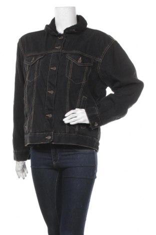 Дамско яке Pimkie, Размер L, Цвят Черен, 100% памук, Цена 26,55лв.
