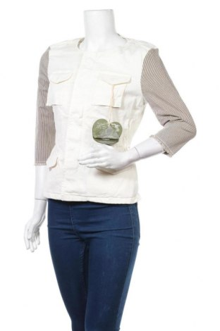 Дамско яке Please, Размер S, Цвят Екрю, 98% памук, 2% еластан, Цена 31,35лв.