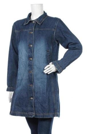 Γυναικείο μπουφάν Q/S by S.Oliver, Μέγεθος L, Χρώμα Μπλέ, 100% βαμβάκι, Τιμή 25,40€