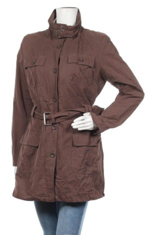 Дамско яке S.Oliver, Размер M, Цвят Кафяв, 50% памук, 35% полиестер, 15% полиамид, Цена 10,71лв.