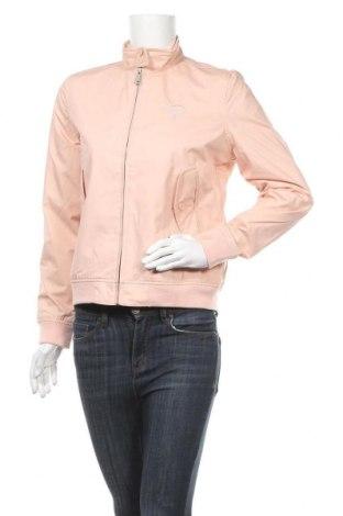 Дамско яке Schott, Размер M, Цвят Розов, 65% полиестер, 35% памук, Цена 66,15лв.