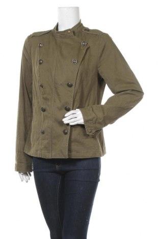 Дамско яке Sonoma, Размер L, Цвят Зелен, 98% памук, 2% еластан, Цена 11,55лв.