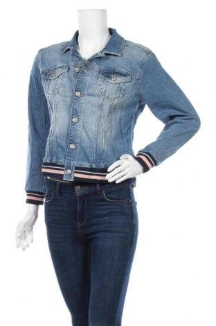 Дамско яке Soya Concept, Размер M, Цвят Син, 98% памук, 2% еластан, Цена 24,26лв.