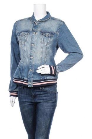 Γυναικείο μπουφάν Soya Concept, Μέγεθος L, Χρώμα Μπλέ, 100% βαμβάκι, Τιμή 22,21€