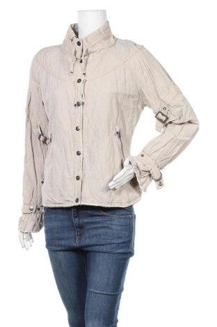 Дамско яке Nu By Staff Woman, Размер L, Цвят Бежов, 55% памук, 38% полиамид, 7% метални нишки, Цена 11,11лв.