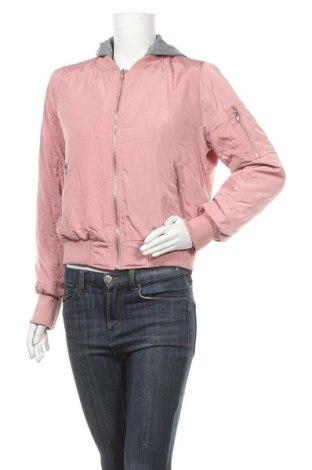 Дамско яке Streetwear Society, Размер L, Цвят Розов, Полиестер, Цена 24,57лв.