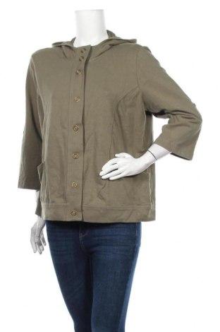 Γυναικείο μπουφάν Style & Co, Μέγεθος L, Χρώμα Πράσινο, 95% βαμβάκι, 5% ελαστάνη, Τιμή 9,32€