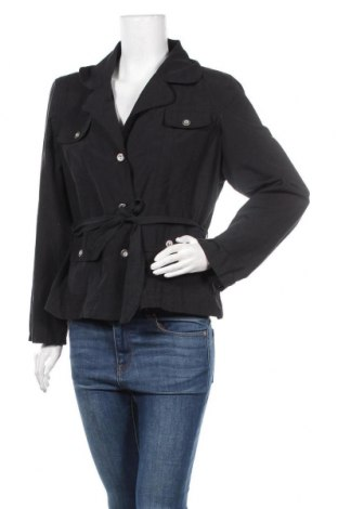 Дамско яке Sure, Размер XL, Цвят Черен, 65% полиестер, 35% памук, Цена 20,48лв.