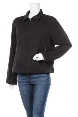 Дамско яке Terre De Marins, Размер XL, Цвят Черен, 99% памук, 1% еластан, Цена 10,08лв.