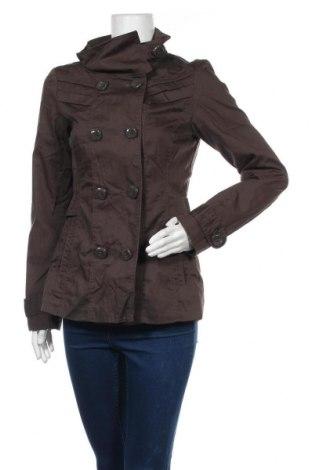 Дамско яке Vero Moda, Размер M, Цвят Кафяв, 65% полиестер, 35% памук, Цена 9,71лв.