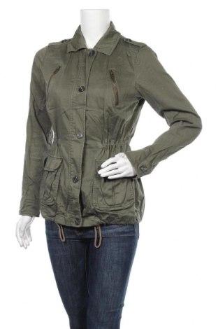 Дамско яке Yessica, Размер S, Цвят Зелен, 98% памук, 2% еластан, Цена 8,82лв.