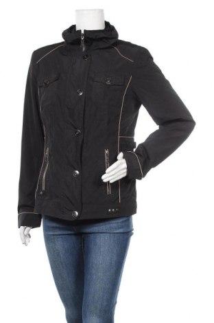 Дамско яке Yessica, Размер M, Цвят Черен, Полиестер, Цена 30,71лв.