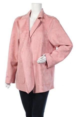 Дамско яке Zizzi, Размер M, Цвят Розов, 93% полиестер, 7% други тъкани, Цена 26,89лв.