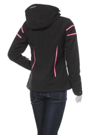 Дамско яке за зимни спортове Icepeak, Размер M, Цвят Черен, 94% полиестер, 6% еластан, Цена 164,25лв.