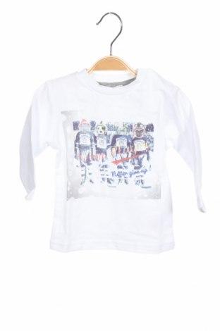 Παιδική μπλούζα 3 Pommes, Μέγεθος 6-9m/ 68-74 εκ., Χρώμα Λευκό, Βαμβάκι, Τιμή 5,57€