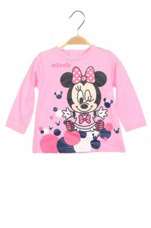 Παιδική μπλούζα Disney, Μέγεθος 9-12m/ 74-80 εκ., Χρώμα Ρόζ , Βαμβάκι, Τιμή 7,89€