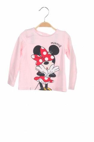 Παιδική μπλούζα Disney, Μέγεθος 12-18m/ 80-86 εκ., Χρώμα Ρόζ , 95% βαμβάκι, 5% ελαστάνη, Τιμή 8,82€