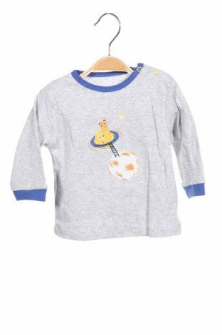 Παιδική μπλούζα F.S. Baby, Μέγεθος 3-6m/ 62-68 εκ., Χρώμα Γκρί, Βαμβάκι, Τιμή 4,38€