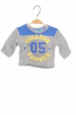 Παιδική μπλούζα Mini Marcel, Μέγεθος 2-3m/ 56-62 εκ., Χρώμα Γκρί, Βαμβάκι, Τιμή 3,71€