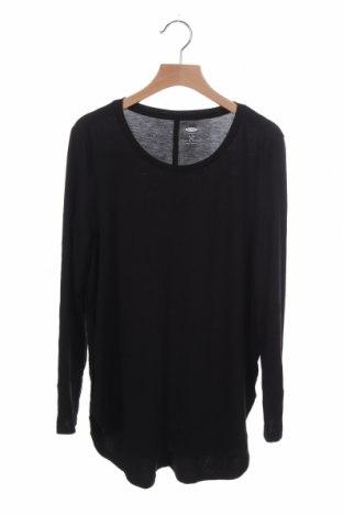 Παιδική μπλούζα Old Navy, Μέγεθος 13-14y/ 164-168 εκ., Χρώμα Μαύρο, 48% πολυεστέρας, 48% βισκόζη, 4% ελαστάνη, Τιμή 4,77€