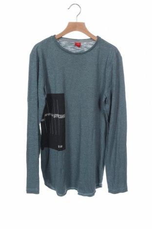 Παιδική μπλούζα S.Oliver, Μέγεθος 12-13y/ 158-164 εκ., Χρώμα Πράσινο, 50% βαμβάκι, 50% πολυεστέρας, Τιμή 12,96€