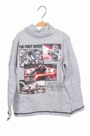 Παιδική μπλούζα Star Wars, Μέγεθος 5-6y/ 116-122 εκ., Χρώμα Γκρί, 93% βαμβάκι, 7% πολυεστέρας, Τιμή 13,92€