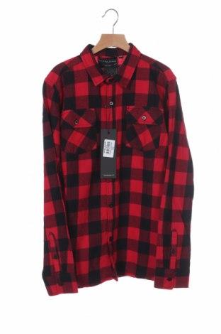 Παιδικό πουκάμισο Criminal Damage, Μέγεθος 15-18y/ 170-176 εκ., Χρώμα Κόκκινο, Βαμβάκι, Τιμή 17,78€
