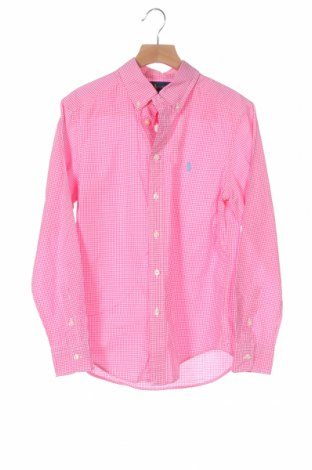 Детска риза Ralph Lauren, Размер 11-12y/ 152-158 см, Цвят Розов, 100% памук, Цена 23,94лв.