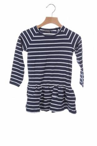 Παιδικό φόρεμα, Μέγεθος 18-24m/ 86-98 εκ., Χρώμα Μπλέ, 95% βαμβάκι, 5% ελαστάνη, Τιμή 15,08€