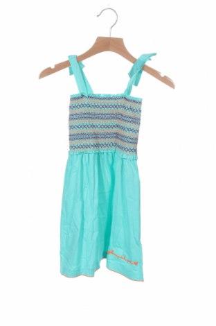 Παιδικό φόρεμα Agatha Ruiz De La Prada, Μέγεθος 4-5y/ 110-116 εκ., Χρώμα Μπλέ, Βαμβάκι, Τιμή 12,16€