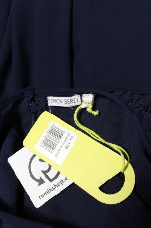 Παιδικό φόρεμα Lemon Beret, Μέγεθος 15-18y/ 170-176 εκ., Χρώμα Μπλέ, Πολυεστέρας, Τιμή 7,60€